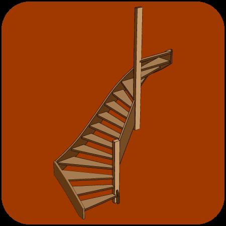 Maattrappen houten trappen op maat gemaakt for Houten trappen op maat gemaakt